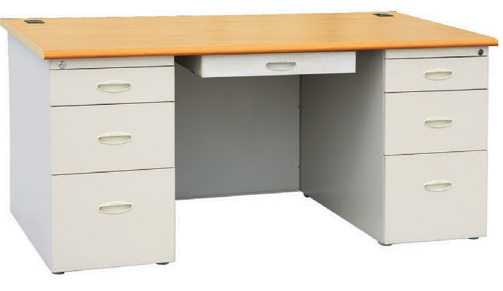 office table with drawers. FSF-ST-03 Office Table With Drawers